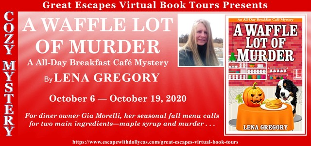 Blog Tour & Giveaway: A Waffle Lot of Murder by Lena Gregory
