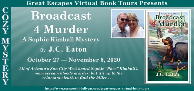 Blog Tour & Giveaway: Broadcast 4 Murder by J.C. Eaton