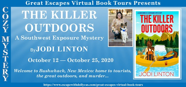 Blog Tour and Giveaway: The Killer Outdoors by Jodi Linton
