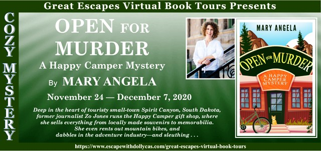Blog Tour & Giveaway: Open For Murder by Mary Angela