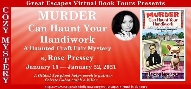Blog Tour & Giveaway: Murder Can Haunt Your Handiwork
