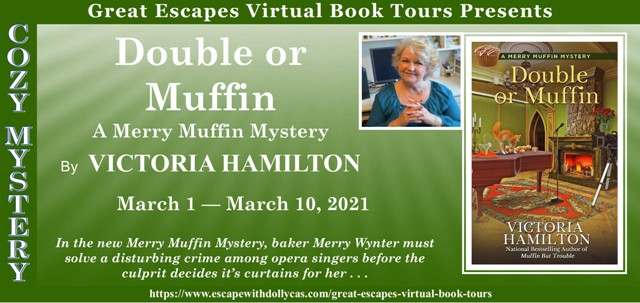 Blog Tour & Giveaway: Double or Muffin by Victoria Hamilton