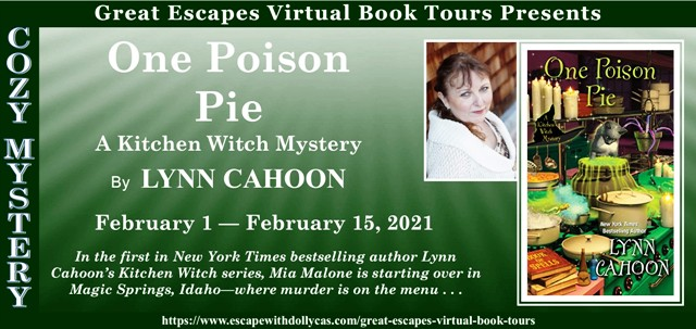 Blog Tour & Giveaway: One Poison Pie by Lynn Cahoon