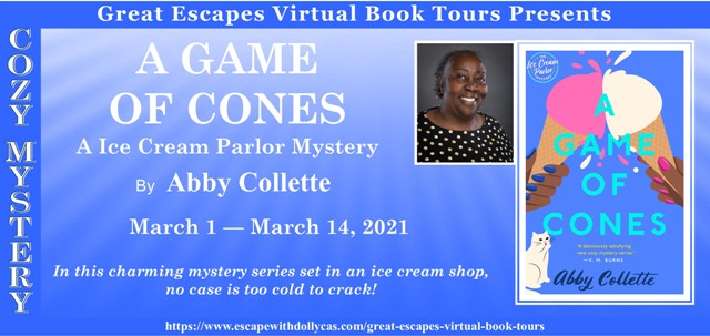 Blog Tour & Giveaway: A Game of Cones by Abby Collette
