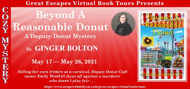 Blog Tour & Giveaway: Beyond a Reasonable Donut by Ginger Bolton