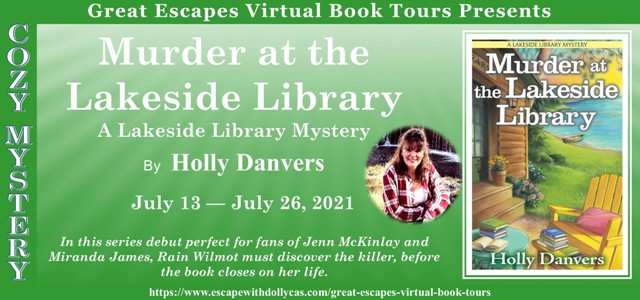 Blog Tour & Giveaway: Murder at the Lakeside Library by Holly Danvers