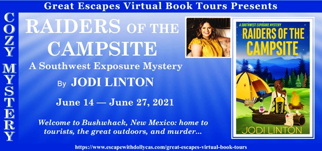 Blog Tour & Giveaway: Raiders of the Campsite by Jodi Linton