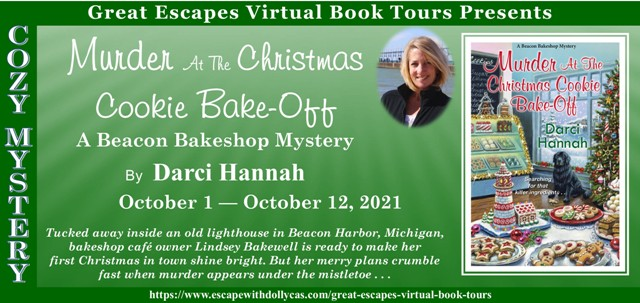 Blog Tour & Review: Murder at the Christmas Cookie Bake-off by Darci Hannah