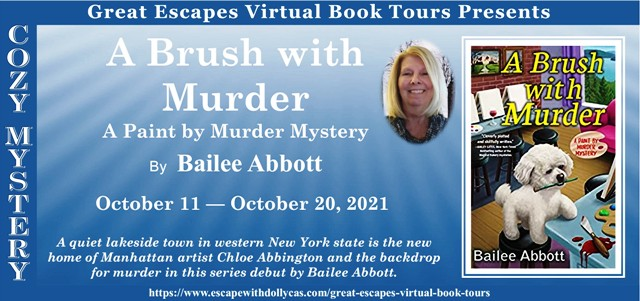 Blog Tour and Giveaway: A Brush with Murder by Bailee Abbott