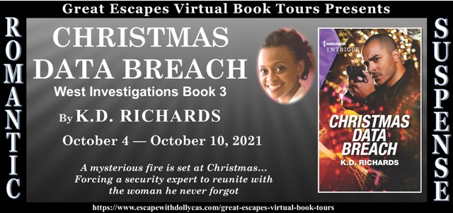 Blog Tour & Giveaway: Christmas Data Breach by K. D. Richards