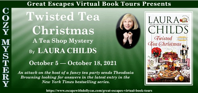 Blog Tour & Giveaway: Twisted Tea Christmas by Laura Childs